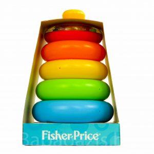 P1200889 300x300 - Fisher-Price Színes gyűrűpiramis