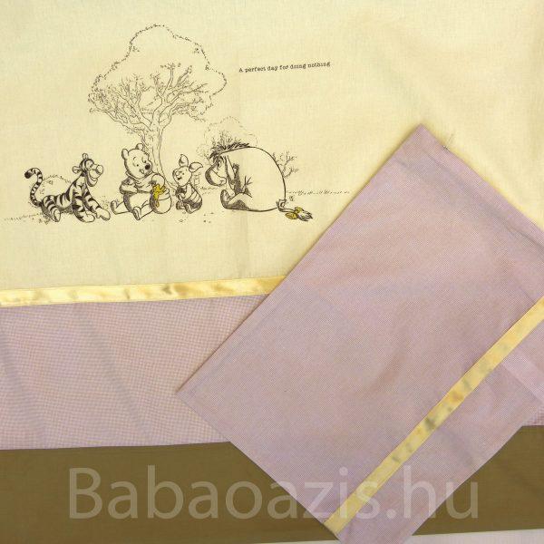 263c39cba6 P1210233 600x600 - Disney 2 részes baba ágynemű huzat – Micimackó és barátai