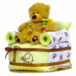 P1210239 1 300x300 - Foteles maci pelenkatorta - sárga