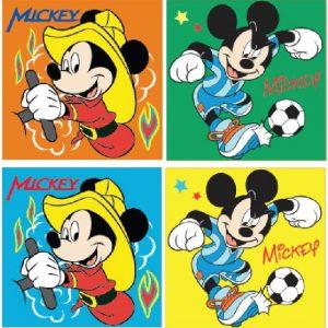 Mickey kéztörlő 300x300 - Disney Mickey arc- és kéztörlő 2 db-os