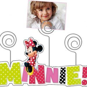 Minnie fa képkeret 300x300 - Egyedi baba ajándék