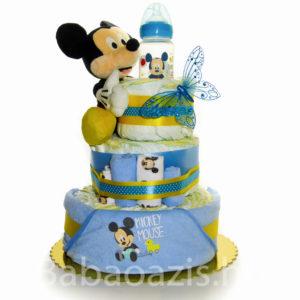 P1220507 300x300 - Mickey egér pelenkatorta
