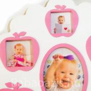 P1220518 180x180 - Családfa képkeret  50x47cm - rózsaszín