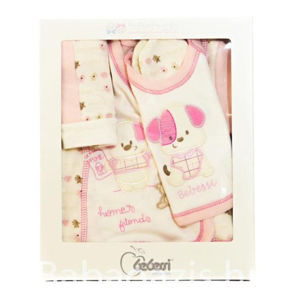 680a20d0b8 5 részes babaruha ajándék szett – rózsaszín 600x600 - 5 részes babaruha  ajándék szett – rózsaszín