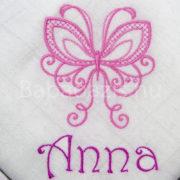 P1220699 180x180 - Egyedi hímzett textilpelenka - pillangós