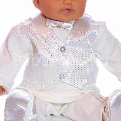 Keresztelő ruha szett kisfiúknak – 5 részes - Babaoázis Webáruház ... 7537b65066