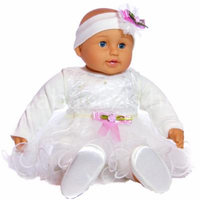 Keresztelő ruha szett kislányoknak – 3 részes - Babaoázis Webáruház ... cba5f20053