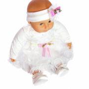 Keresztelő ruha szett kislányoknak – 3 részes.3. 180x180 - Keresztelő ruha szett kislányoknak – 3 részes
