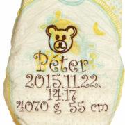 P1230872 180x180 - Egyszínű hímzett pelus - választható szín és minta