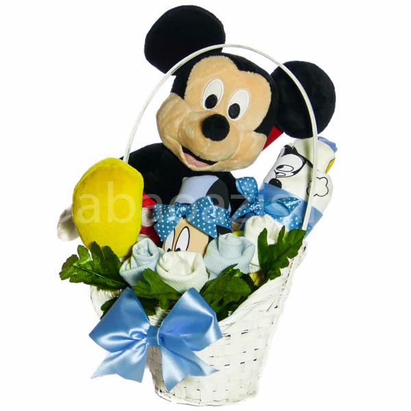 Mickey egér ajándékkosár - Mickey egér ajándékkosár