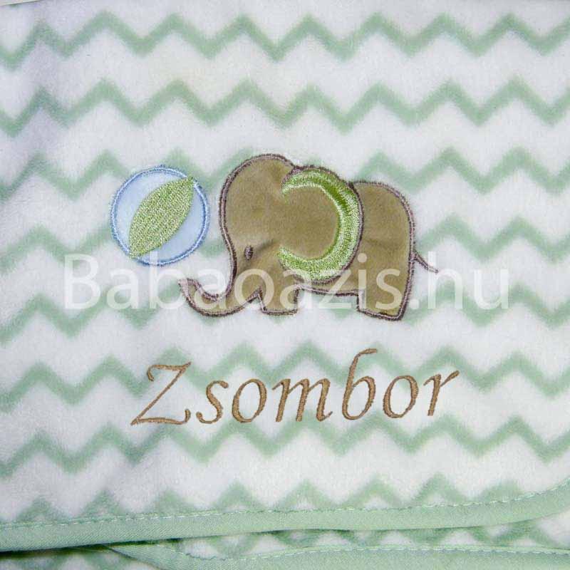 Névre szóló wellsoft babatakaró – elefántos - Babaoázis Webáruház-Egyedi  baba ajándékok 331d7430ab