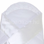 P1240733 180x180 - Keresztelő pólya szatén díszítéssel – fehér