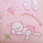 Bebessi takaró szett – rózsaszín