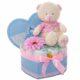 Macis ajándékdoboz pelussal – rózsaszín