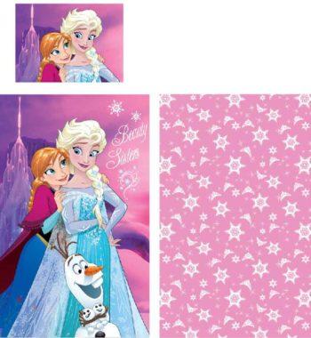 frozen ágynemű 350x380 - Gyerek ágyneműhuzat Disney Frozen, Jégvarázs 90×140cm, 40×55 cm
