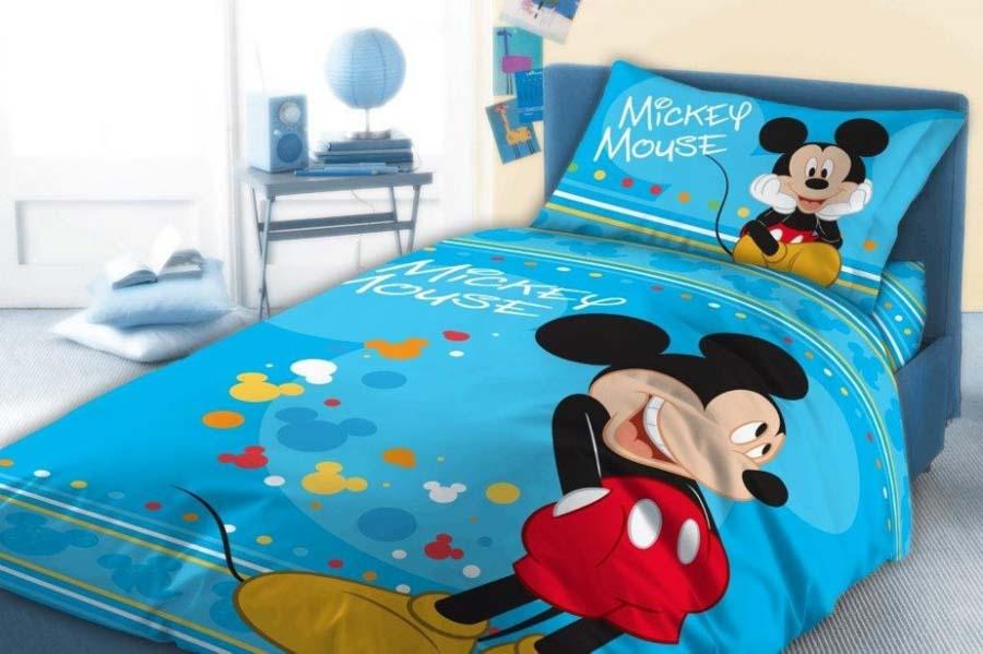 41997714a8 Gyerek ágyneműhuzat Disney Mickey 100×135cm, 40×60 cm - Babaoázis ...