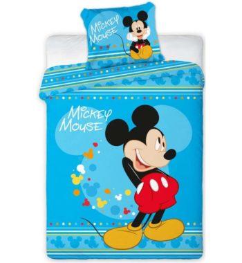 mickey egér ágynemű2 350x380 - Gyerek ágyneműhuzat Disney Mickey 100×135cm, 40×60 cm