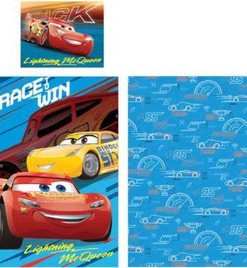 verdák ágynemű 350x380 - Gyerek ágyneműhuzat Disney Cars, Verdák 90×140cm, 40×55 cm