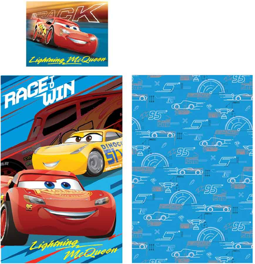 Gyerek ágyneműhuzat Disney Cars 4e20b0624b