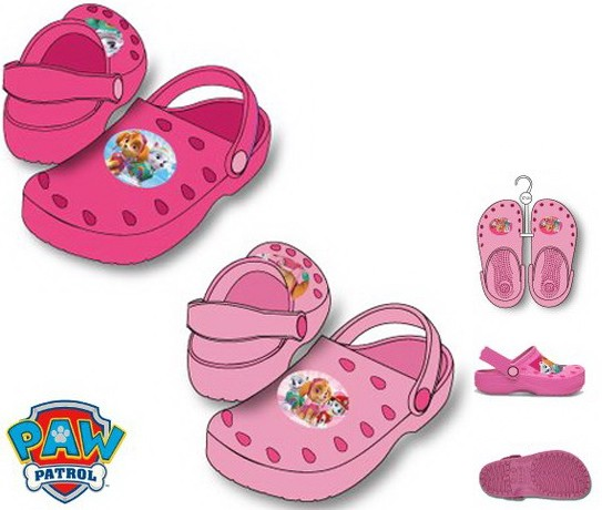 SQE4886 - Paw Patrol, Mancs Őrjárat gyerek papucs - pink