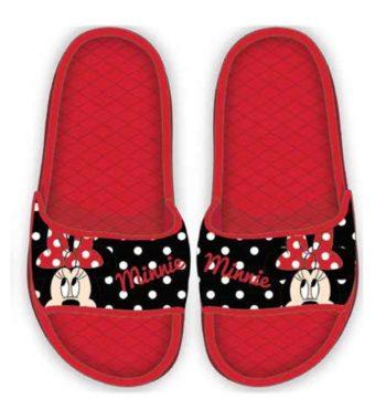 STN870337piros 350x380 - Disney Minnie gyerek papucs - piros