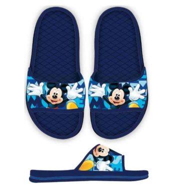 STN870342s 350x380 - Disney Mickey gyerek papucs - sötétkék