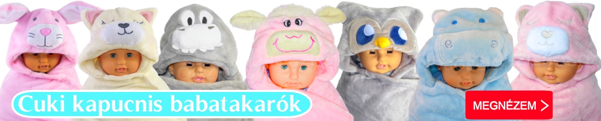 kapucnis - Egyedi baba ajándék