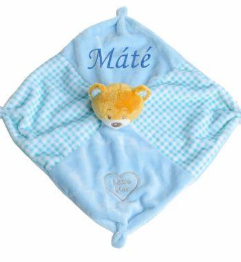 szundikendo macis kockas kek 6 7 350x380 - Egyedi baba ajándék