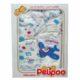 5 részes Pelipoo babaruha ajándék szett – repülős