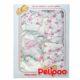 5 részes Pelipoo babaruha ajándék szett – virágos