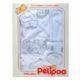 5 részes Pelipoo babaruha ajándék szett – fehér 1.