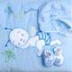 Bebessi takaró szett – kék