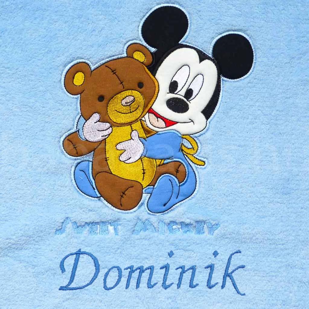 Névre szóló Disney Sweet Mickey wellsoft babatakaró - Babaoázis ... e8ea6d0485