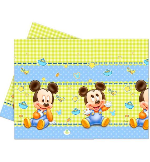 Disney Mickey Asztalterítő 120180 cm 570x619 - Mickey egér party szett
