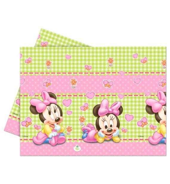 Disney Minnie Asztalterítő 120180 cm 570x619 - Minnie egér party szett