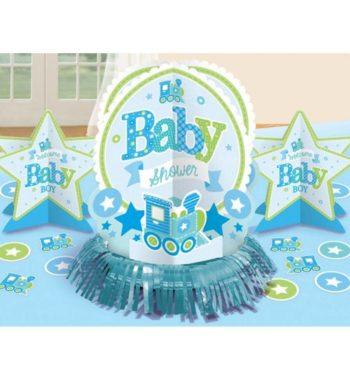 Welcome Baby Asztali dekoráció szett 2 350x380 - Welcome Baby Asztali dekoráció szett - kék