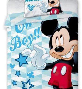 FRA541850 altpic 1 350x380 - Gyerek ágyneműhuzat Disney Mickey 3 100×135cm, 40×60 cm