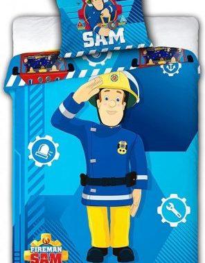 FRA552962 296x380 - Gyerek ágyneműhuzat Fireman Sam, Sam a tűzoltó 100×135cm, 40×60 cm