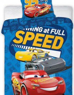 FRA554447 297x380 - Gyerek ágyneműhuzat Disney Cars, Verdák 2 100×135cm, 40×60 cm
