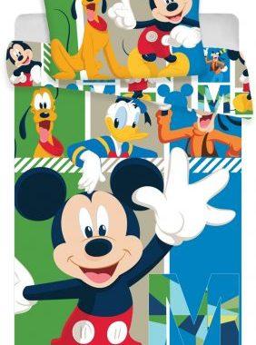 JFK014561 3 282x380 - Gyerek ágyneműhuzat Disney Mickey 100×135cm, 40×60 cm