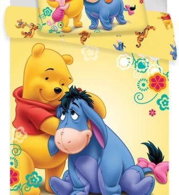 JFK014578 1 350x380 - Gyerek ágyneműhuzat Disney Winnie the Pooh 100×135cm, 40×60 cm
