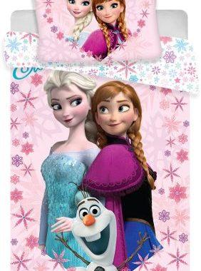 JFK014585 4 282x380 - Gyerek ágyneműhuzat Disney Frozen, Jégvarázs 100×135cm, 40×60 cm