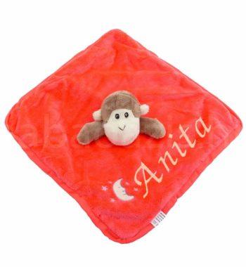 P1310630.2 350x380 - Névre szóló plüss szundikendő – majom