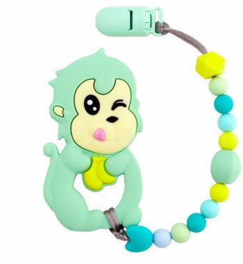 ragcsalancP1310604 1 350x380 - Szilikon rágcsalánc - majom