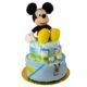 P1320235 80x80 - Mickey egér pelenkatorta - 2 szintes