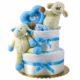 P1320265 80x80 - Báránykás pelenkatorta - 2 szintes - kék