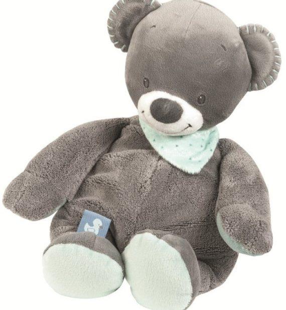 843010 1 570x619 - Nattou plüss játék 36cm-Nestor medve figura-843010