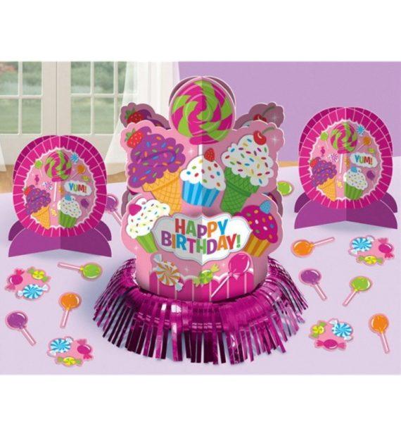 DPA281539 570x619 - Happy Birthday Asztali dekoráció szett