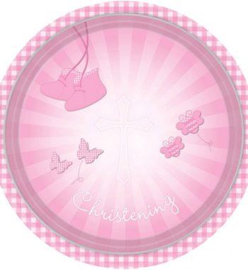 DPA997291 350x380 - Keresztelő party szett - 2 részes rózsaszín