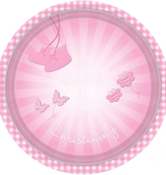 DPA997291 570x600 - Keresztelő party szett - 2 részes rózsaszín